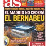 As: Il Real Madrid non lascerà il Bernabeu