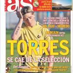 As: Torres fuori dalla selezione