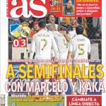 As: In semifinale con Marcelo e Kakà