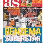As: Benzema superstar