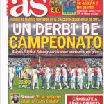 As: Un derby di campionato