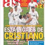 As: Questa Liga è di Cristiano