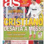 As: Cristiano sfida Messi