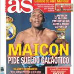 As: Maicon chiede uno stipendio galactico