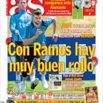 As, Piquè: Con Ramos c'è una buona atmosfera