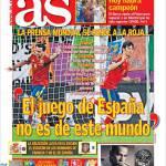 As: Il gioco della Spagna non è di questo mondo