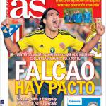 As: Falcao, c'è il patto