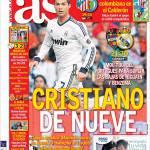 As: Cristiano Ronaldo de nueve