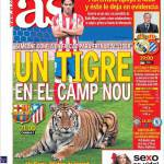 As: Una tigre al Camp Nou