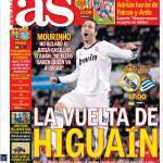 As: Il ritorno di Higuain