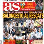 AS: Mourinho ha promosso la vittoria dello scudetto del Barcellona
