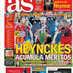 AS: Heynckes accumula meriti
