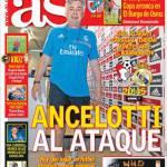 AS: Ancelotti all'attacco