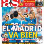 AS: Il Madrid va bene