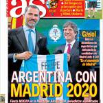 AS: Argentina con Madrid 2020