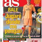 "AS, Bale: ""Giocherò dove mi mettono"""