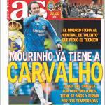 As: Mourinho ha già Carvalho