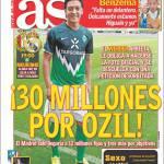 As: 30 milioni per Ozil