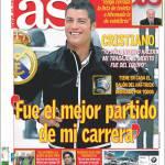 """As: Ronaldo """"E' stata la miglior partita della mia carriera"""""""