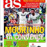 As: Mourinho convinto