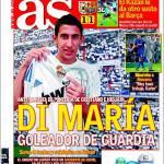 As: Di Maria, goleador di scorta