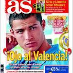 """As: Ronaldo """"Attenzione al Valencia"""""""