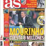 As: Mourinho costa 8 milioni