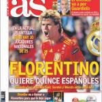 As: Florentino chiede cinque spagnoli