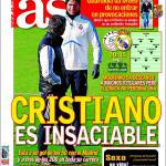 As: Cristiano è insaziabile
