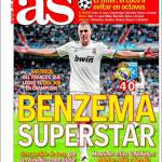 As: Benzema superstar