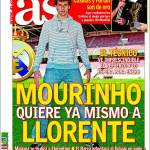 As: Mourinho chiede Llorente
