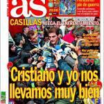 """As: Casillas """"Io e Ronaldo ci troviamo molto bene"""""""