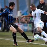 Marsiglia-Inter 1-0, Ayew affonda i nerazzurri al fotofinish
