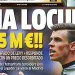 Calciomercato, richiesta shock del Tottenham per Bale! Per gli Spurs vale quanto Cavani più Neymar e 25 milioni
