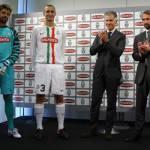Juventus, ecco la seconda maglia con lo sponsor Balocco – Foto