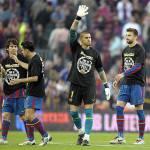 Il Barça 'minaccia' l'Inter… con una maglietta! – Foto