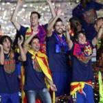 Barcellona, festa grande dopo la conquista della Liga – Video