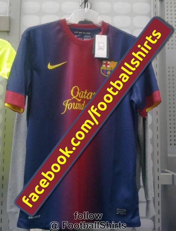 barcelona2012 Nuova maglia Barcellona 2012 2013: ecco la prima foto dal vivo   Foto