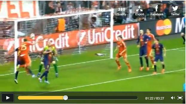 bayern barcellona Video   Bayern Monaco Barcellona 4 0, ecco tutti i gol della serata: 4 schiaffi alla bavarese!