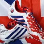 Foto – Ecco le scarpe celebrative per l'ultima gara di Beckham: spettacolo targato Adidas