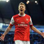 Calciomercato Juventus, chiesto Bendtner all'Arsenal