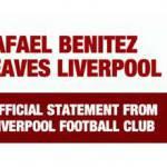 Calciomercato Inter: ufficiale, Benitez lascia il Liverpool