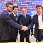 Calciomercato Napoli, De Laurentiis blinda Mazzarri e i tre tenori