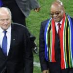 """Mondiali 2010, Blatter fa dietrofront sulla tecnologia in campo: """"Dobbiamo convivere con gli errori"""""""