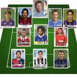 """Foto – Ecco la top 11 dei più grandi """"latin lover"""" del calcio: da Vieri a Bettarini, passando per Borriello…"""