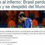 """Sudafrica 2010: Brasile, la stampa attacca: """"Il Paese è in lutto"""""""