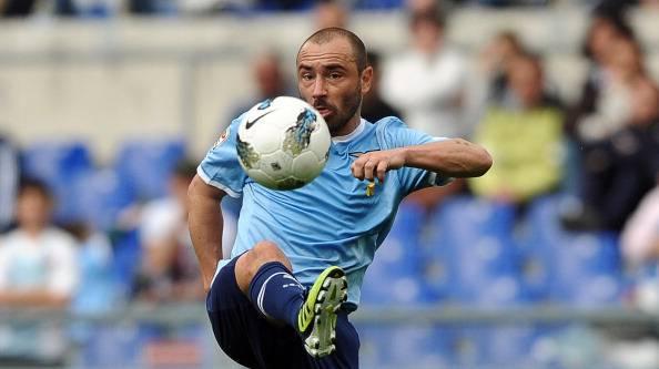 Lazio's midfielder Cristian Brocchi cont