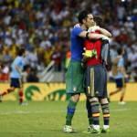 Spagna-Italia, il signore Casillas: che bel gesto al fischio finale con Buffon! – Foto