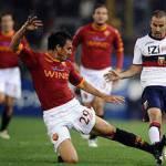 Serie A, Roma-Genoa 1-0 al 45′