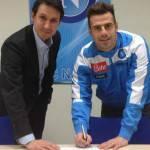 Napoli, per Calaiò è un sogno: Fantastico per me passare dalla C1 all'Europa League con il Napoli